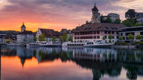 Reisverslag kamperen in het kanton Schaffhausen in Zwitserland