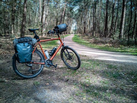 Drieenhalve dag fietsen door Nederland